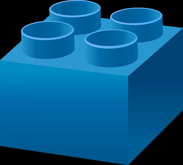 Lego blue free collection. Legos clipart plastic block