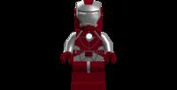 Lego clipart guy. Iron man mark suitcase