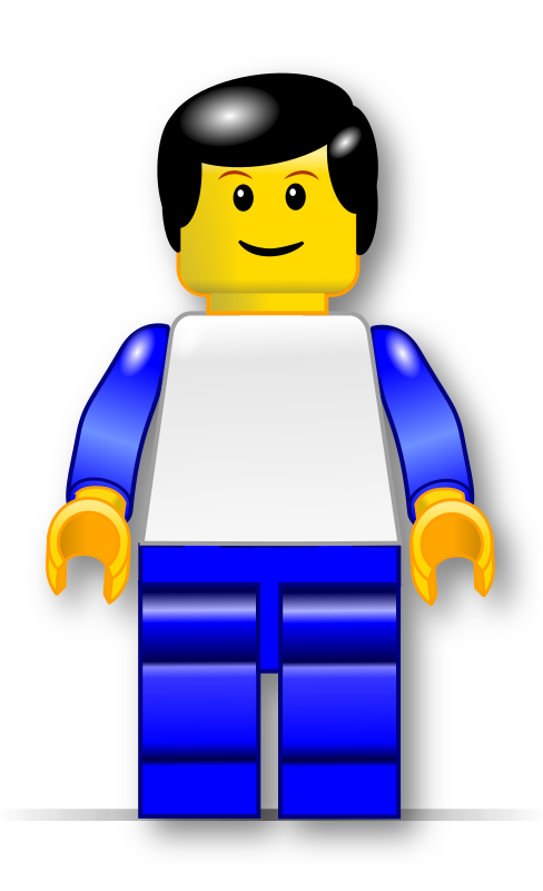 Man model medium image. Legos clipart guy