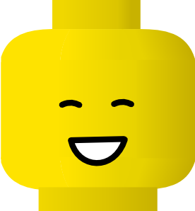 Lego clip art happy. Legos clipart stacked