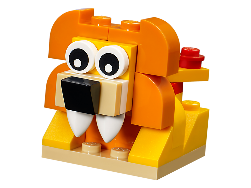 Lego classic orange creativity. Legos clipart set