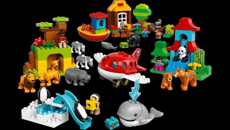 Legos clipart construction lego. Around the world duplo