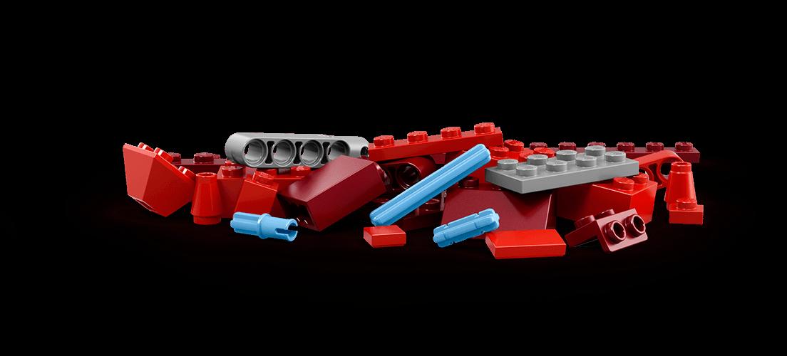 Red zone kickstarting creative. Legos clipart plastic block