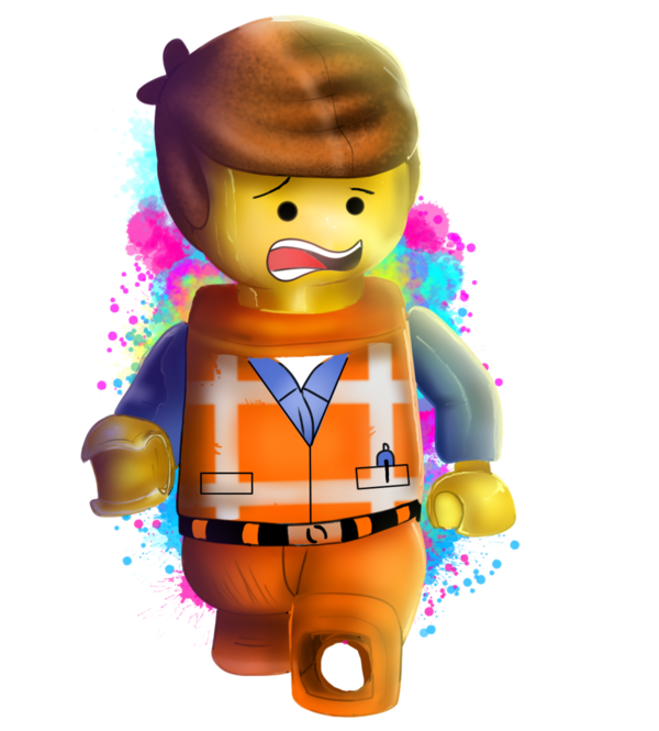 Emmet lego movie by. Legos clipart bad