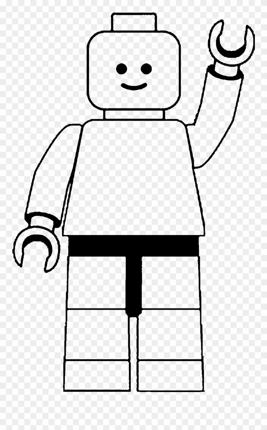 Lego man black and. Legos clipart clip art