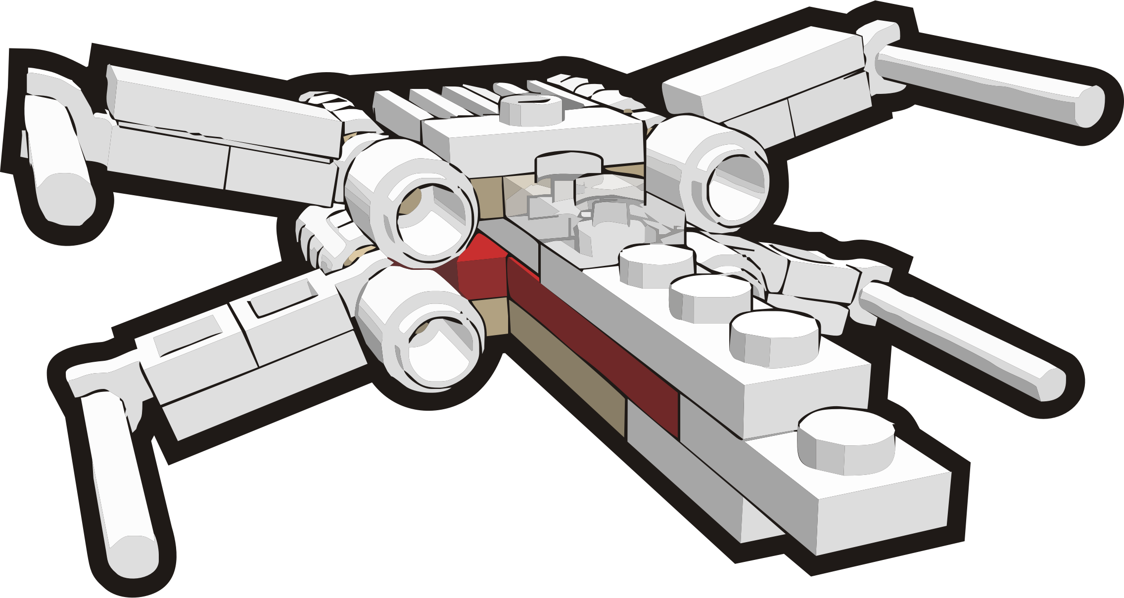 Spaceship clipart fighter.  collection of star