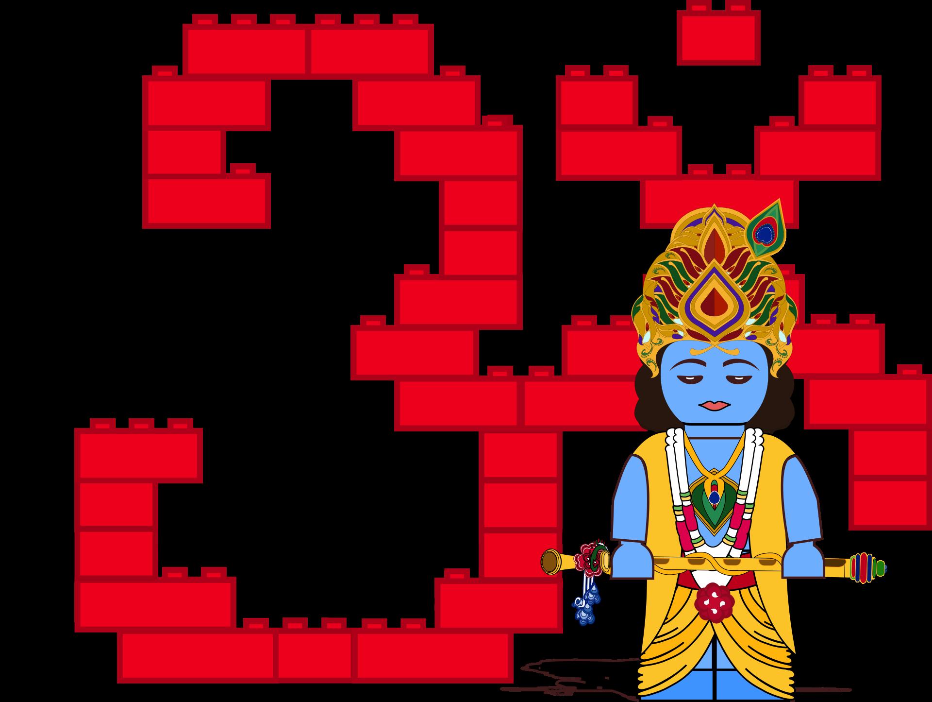. Lego Krishna
