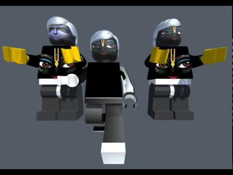 D animation from th. Lego Krishna