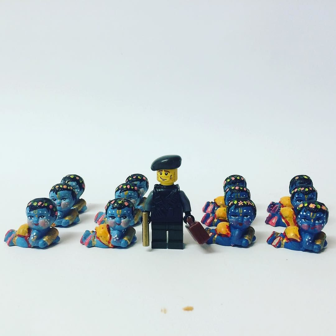Lego Krishna. There s got to