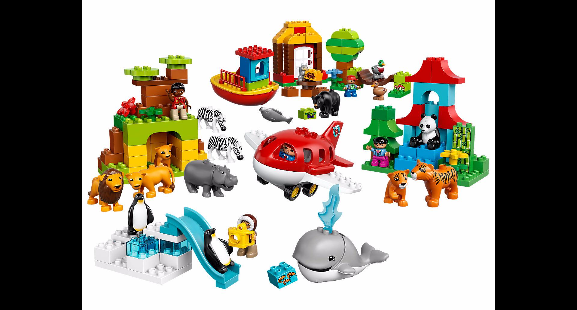 Legos clipart blocs. Lego duplo le tour