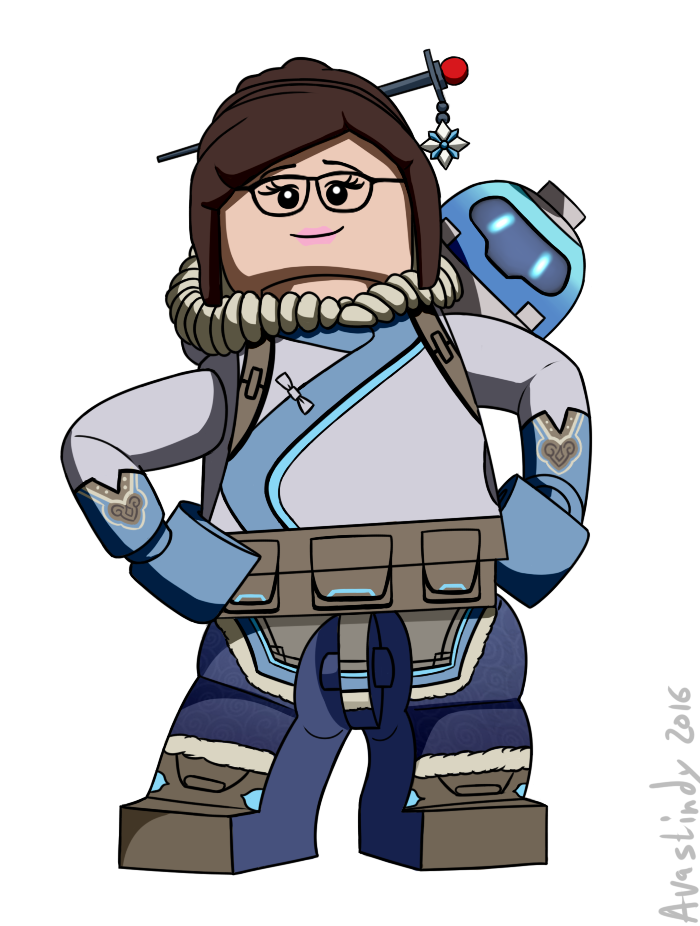 Lego mei overwatch know. Legos clipart blok