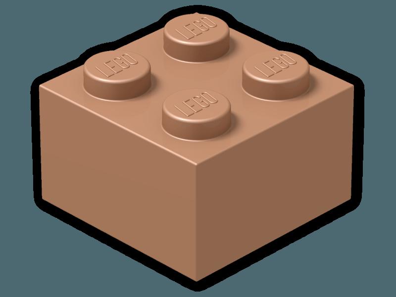 Lego color copper. Legos clipart brick