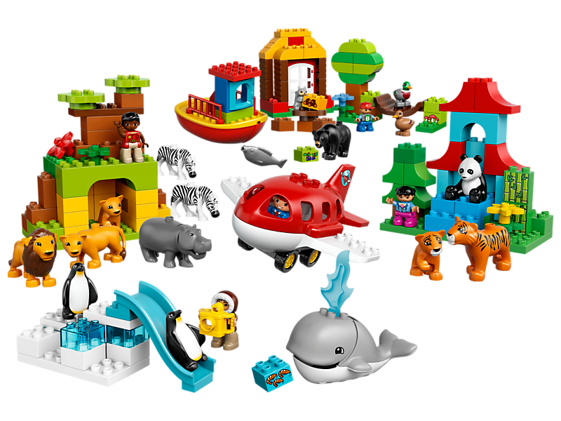 Around the world kiddiwinks. Legos clipart builds