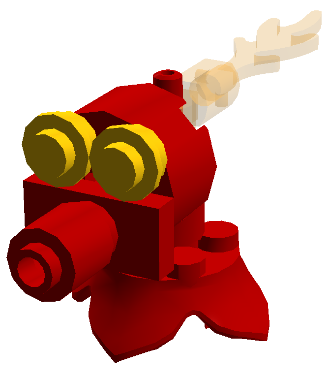 Legos clipart builds. Image lego fire peashooter