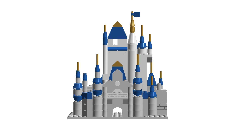 Ideas product microscale disney. Palace clipart castle lego