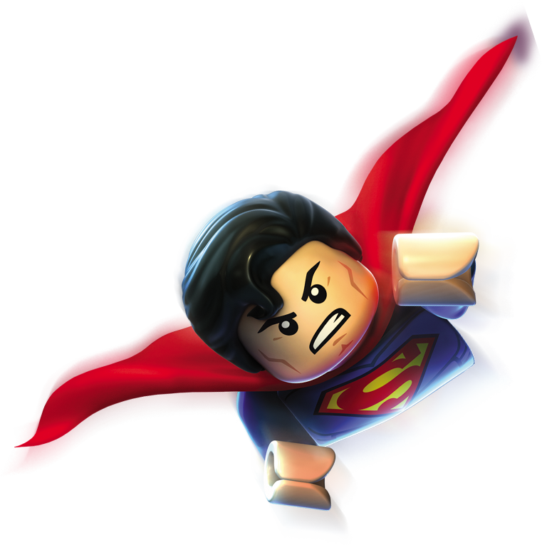 Legos clipart clear. Superman lego with background