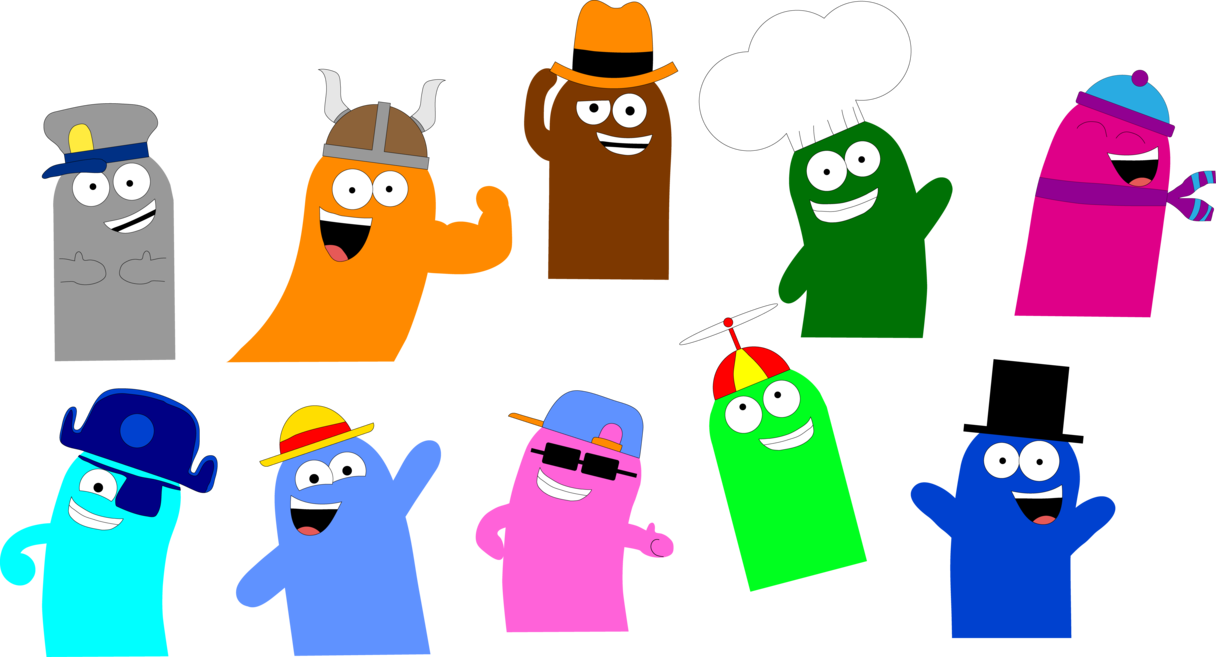 Legos clipart colored. Ten bloo colors wearing
