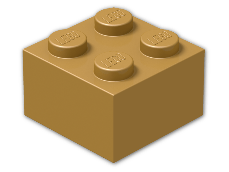 Legos clipart colored. Lego color warm gold