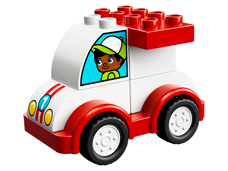 Legos clipart duplo block. Lego my first race