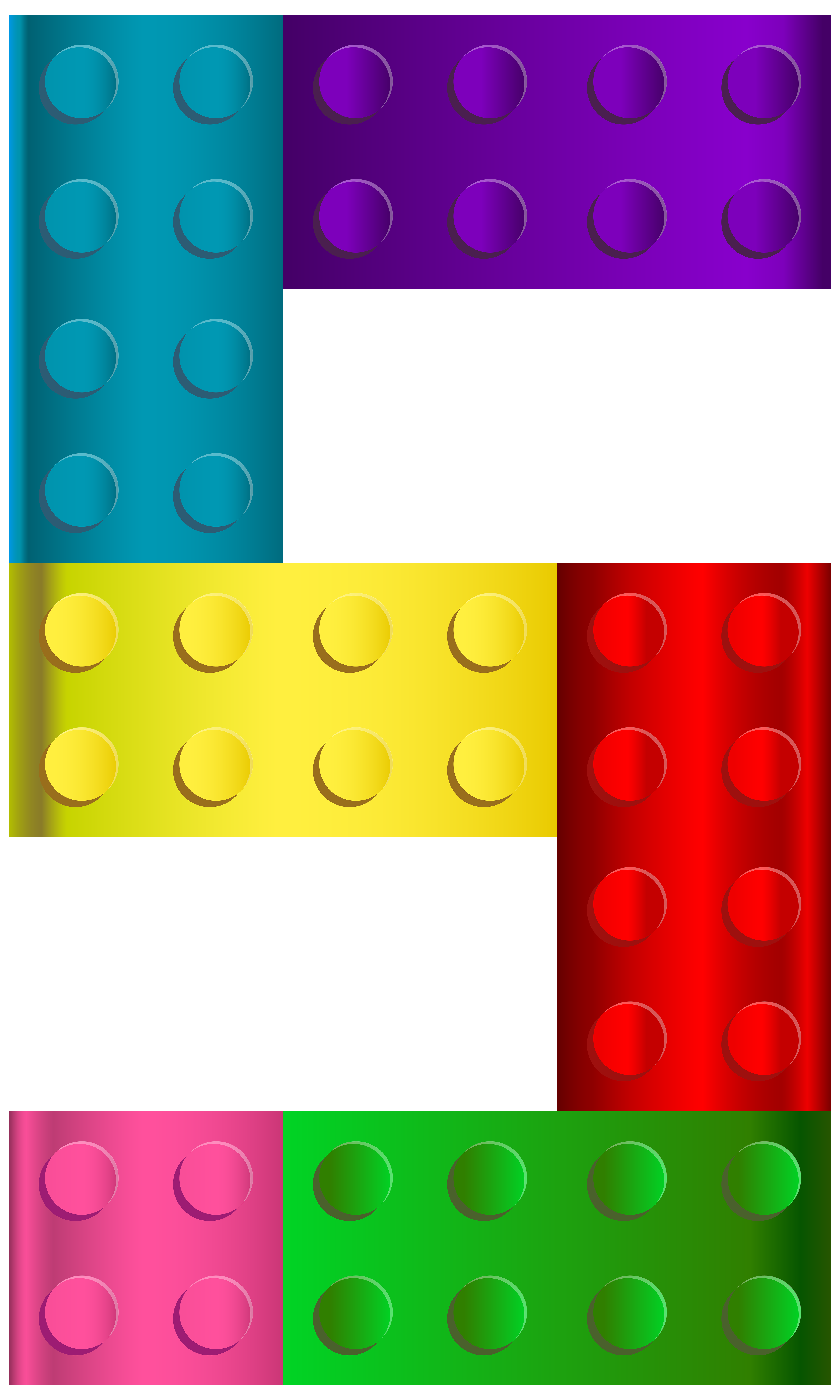 Lego number five png. Legos clipart part