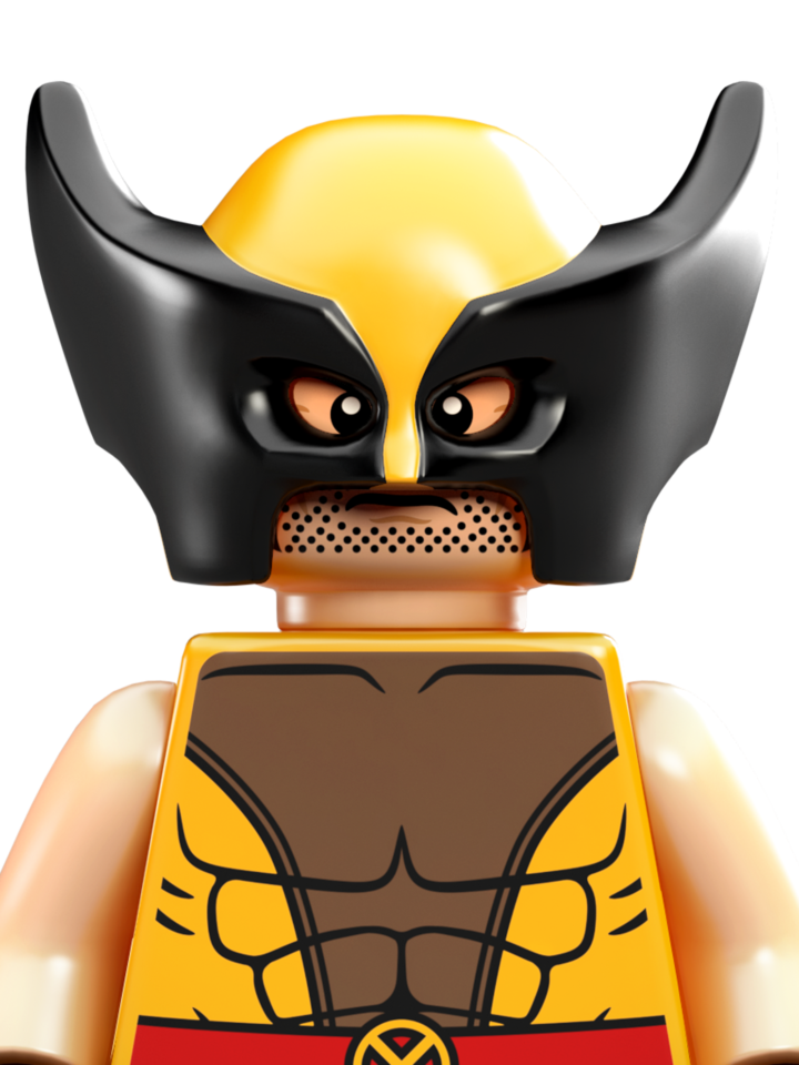 Wolverine personajes com drawing. Legos clipart person lego