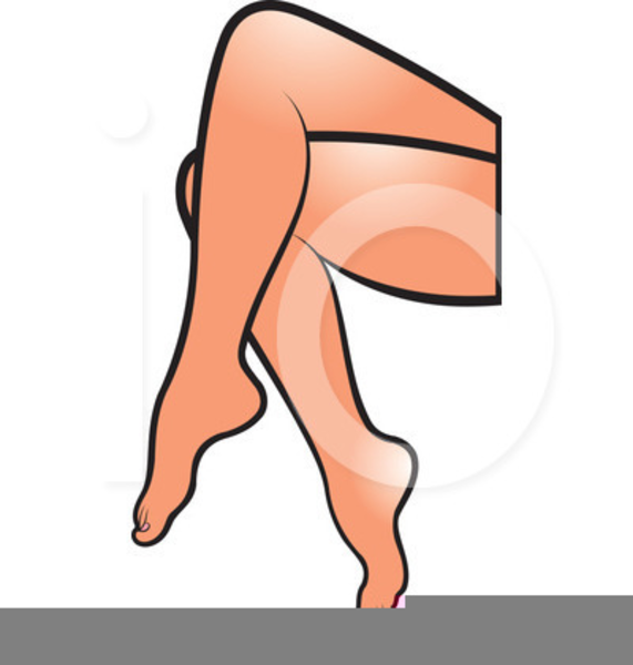 Crossed free images at. Legs clipart