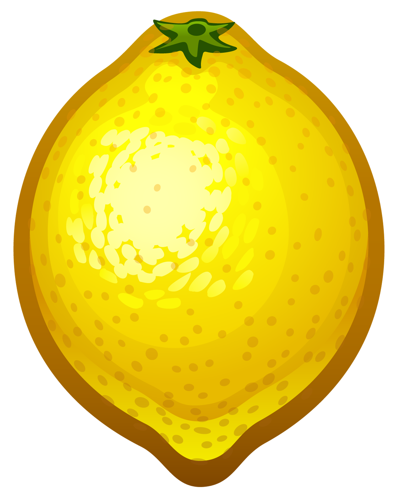 Lemon clipart. Large painted png gallery