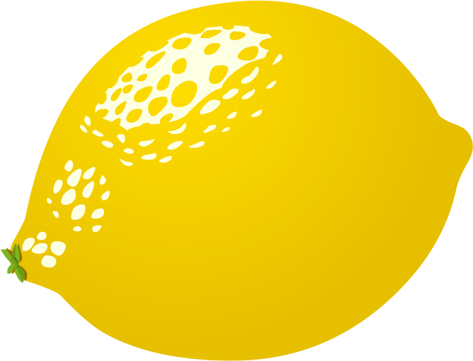 . Lemon clipart