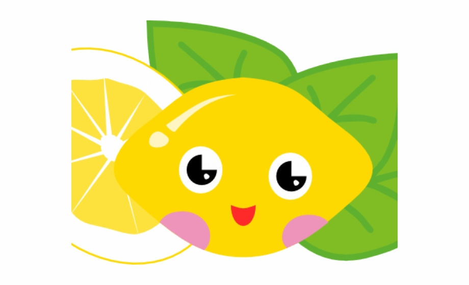 Lemons clipart man. Character lemon cute cartoon