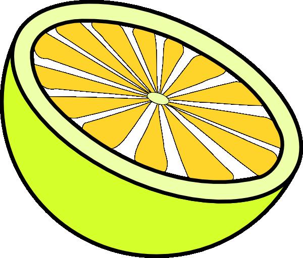Cut lemon clip art. Lemons clipart limon