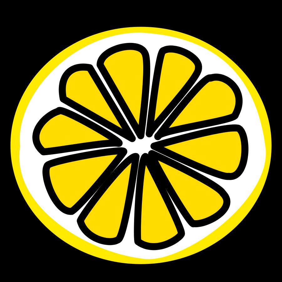 Lemons clipart lamon. Lemon black and white