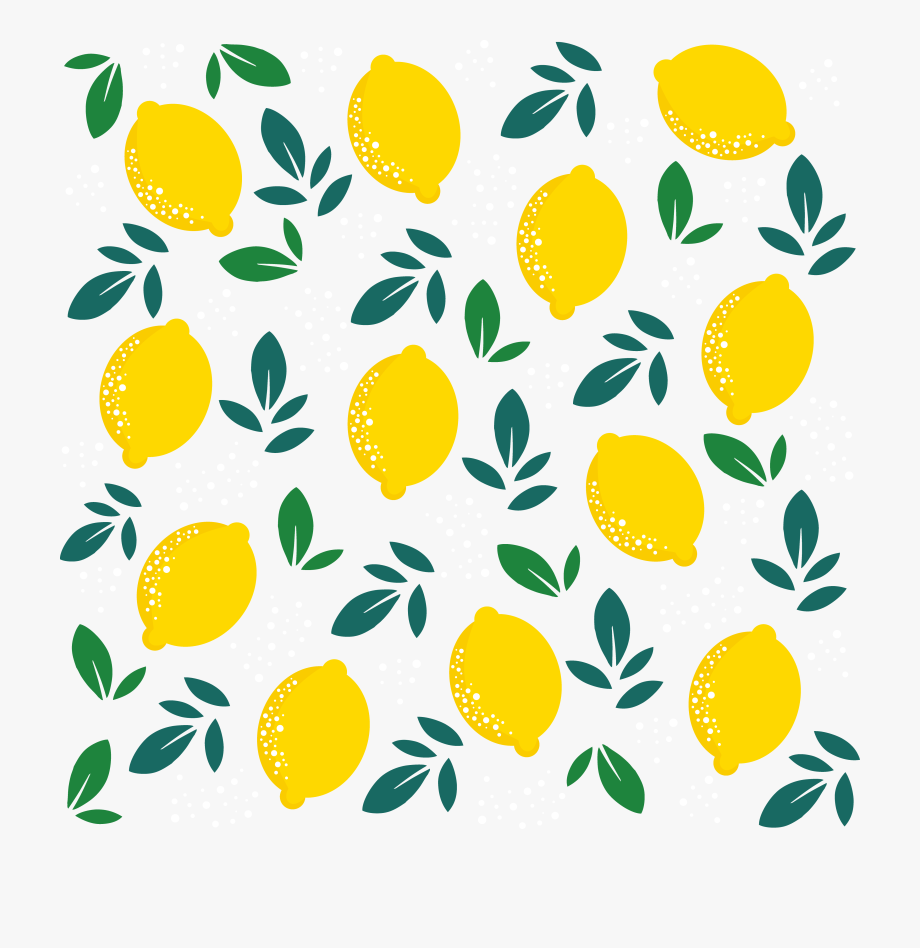 Background transparent . Lemons clipart lemon leaf