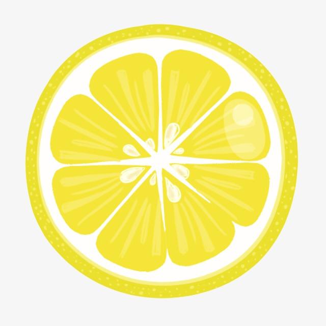 Lemon slice clip art. Lemons clipart sliced