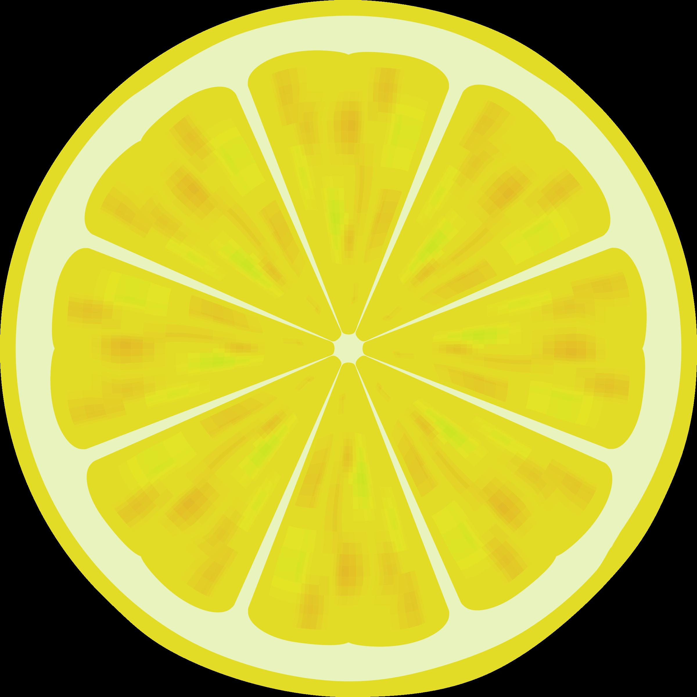 Lemons clipart sliced.  collection of lemon