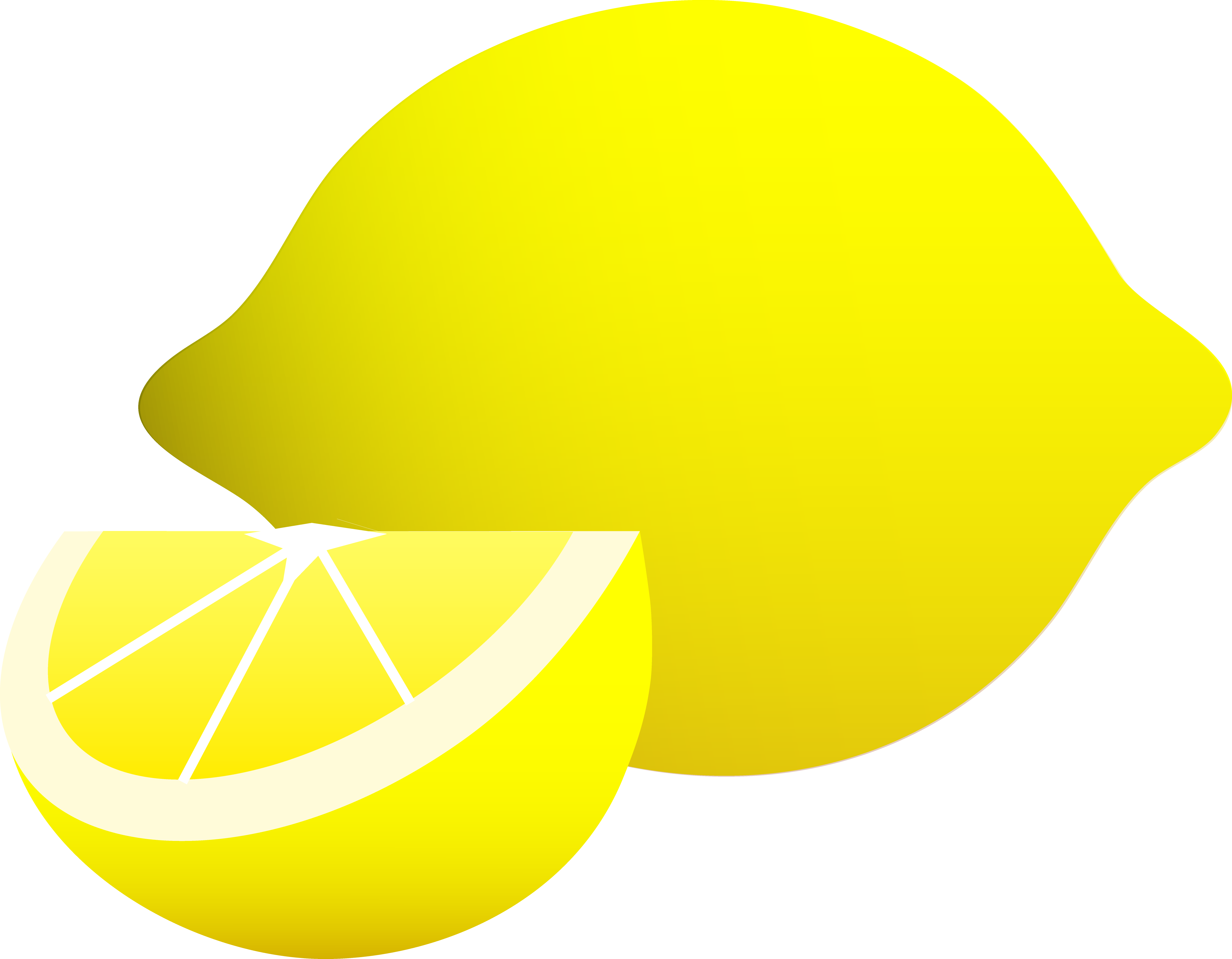 Lemon wedge drawing at. Lemons clipart face