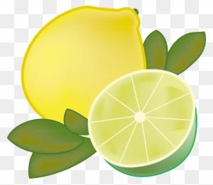 Lemons clipart lime. Lemon and transparent png