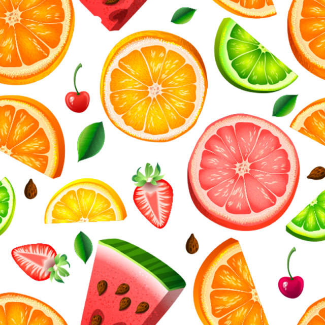 Fruits background material realistic. Mango clipart psd