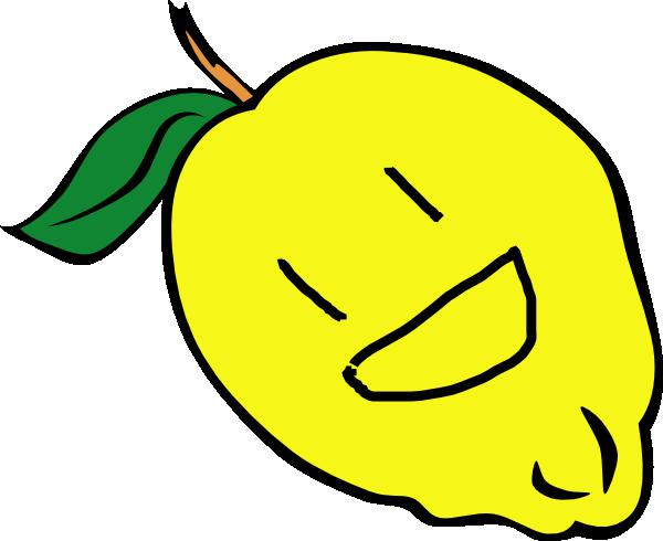 Lemons clipart smiley. Lemon clip art at