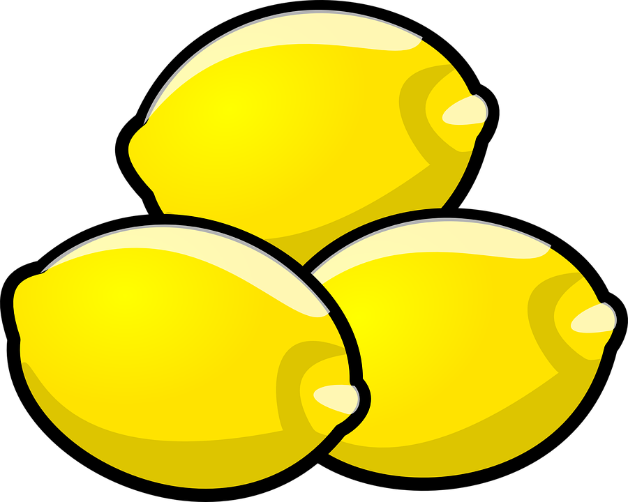 Cartoon group fruit food. Lemons clipart happy lemon