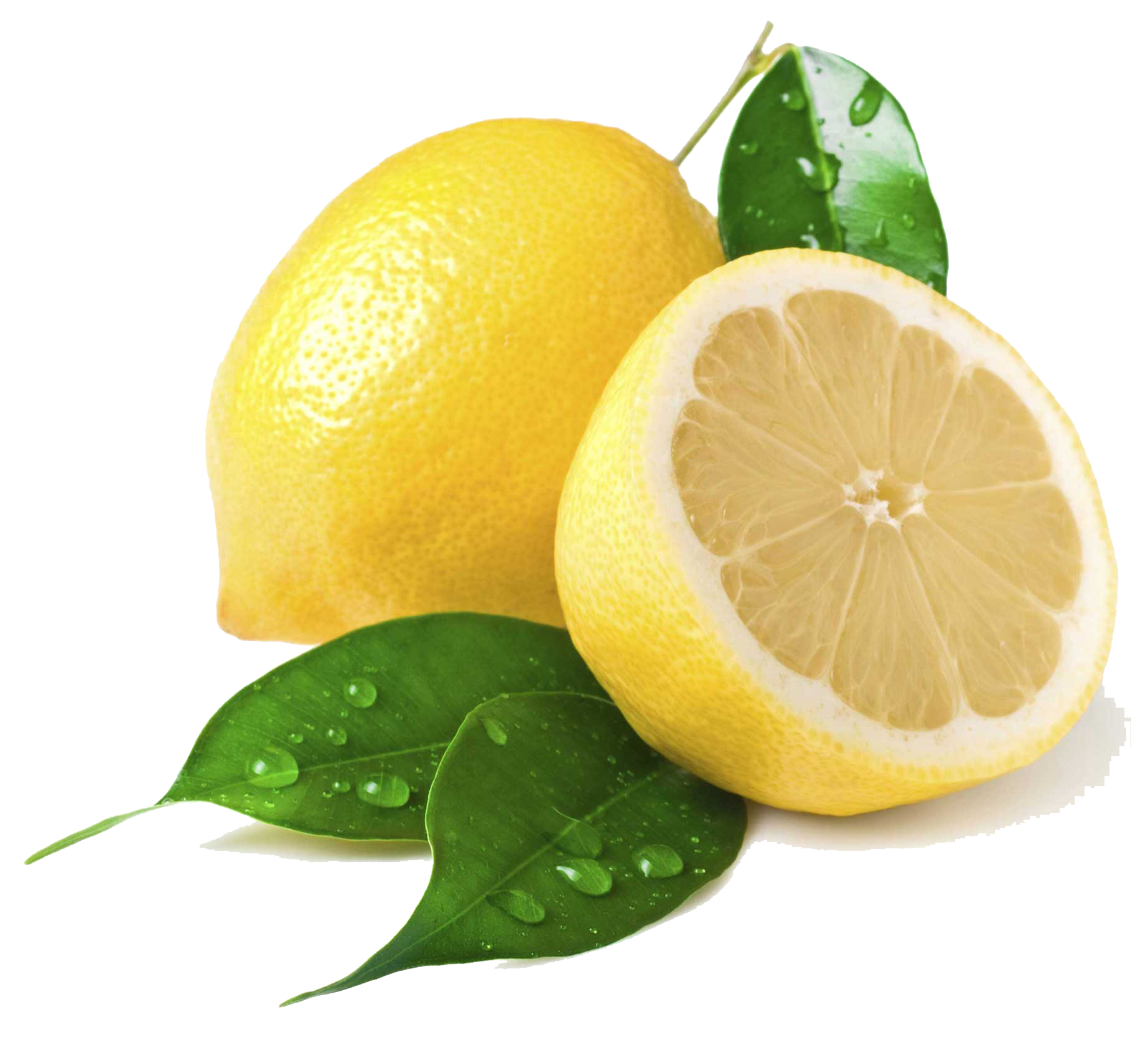 Lemon png transparent images. Lemons clipart two