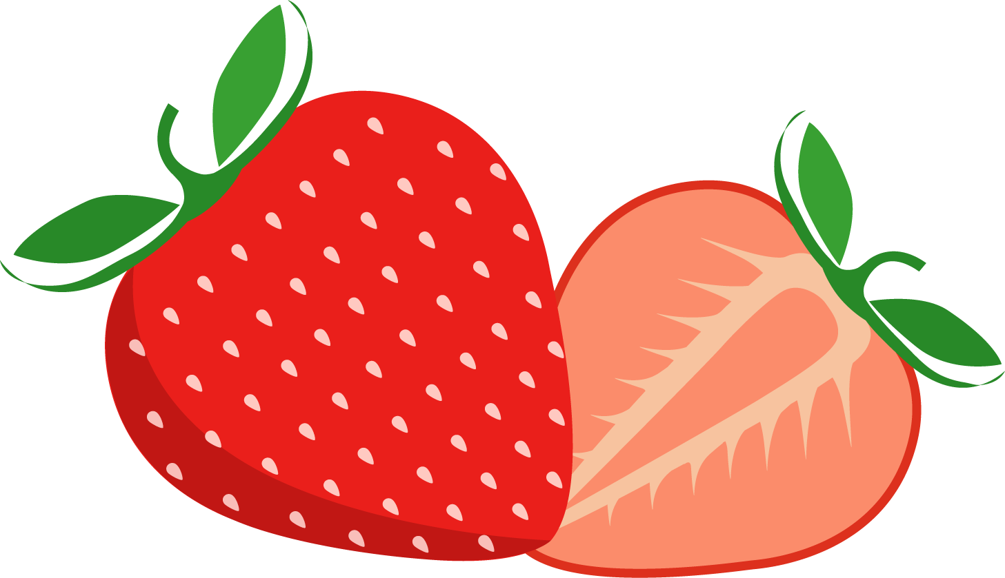 Strawberries clipart draw. Strawberry png transparent free