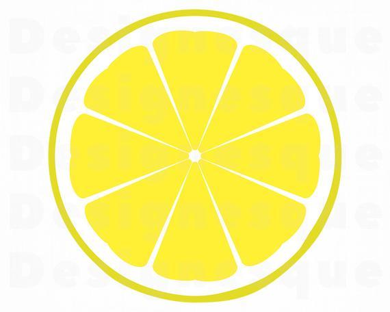 Lemons clipart sliced. Lemon svg slice files