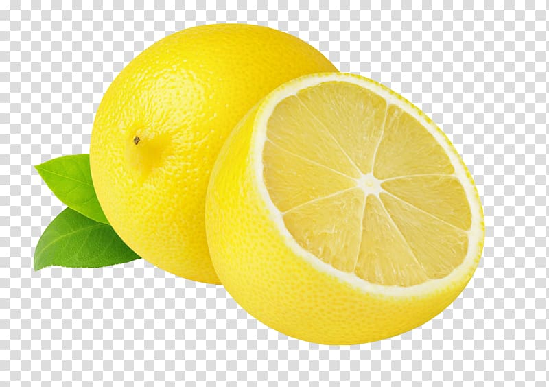 Sliced of lemon lemonade. Lemons clipart fruit