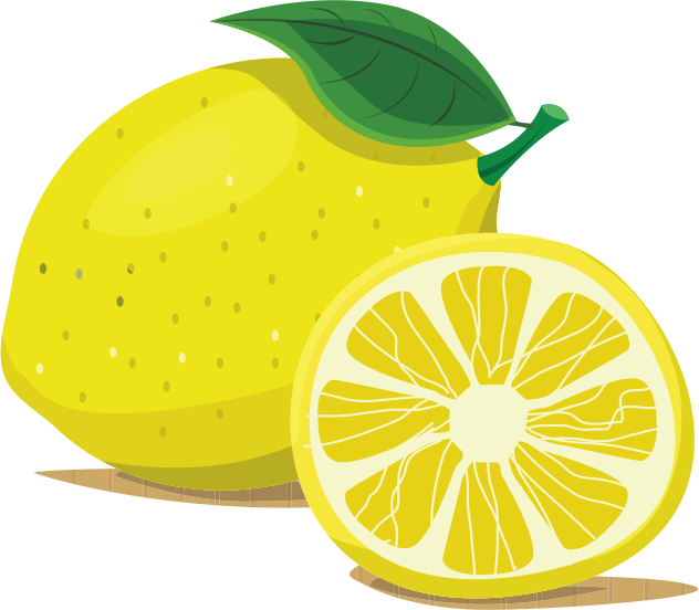 My sweet lemons making. Lemon clipart