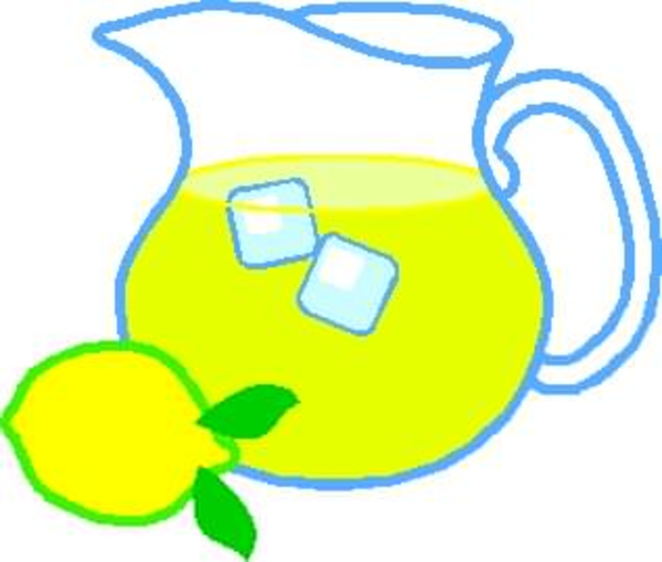 Lemonade clipart. Free pitcher images at