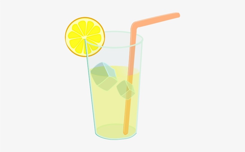 Lemonade clipart transparent background. Drawing glass of