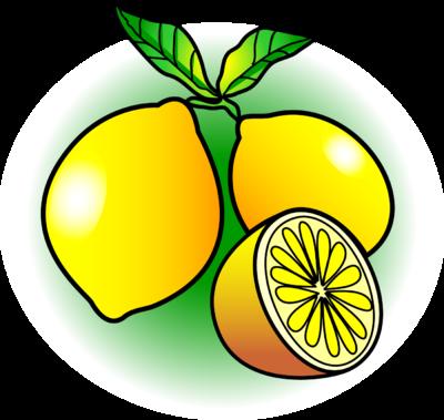 Image lemon food clip. Lemons clipart