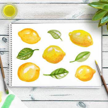 lemons clipart