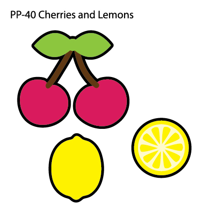Lemons clipart cherry. Pp cherries and cut