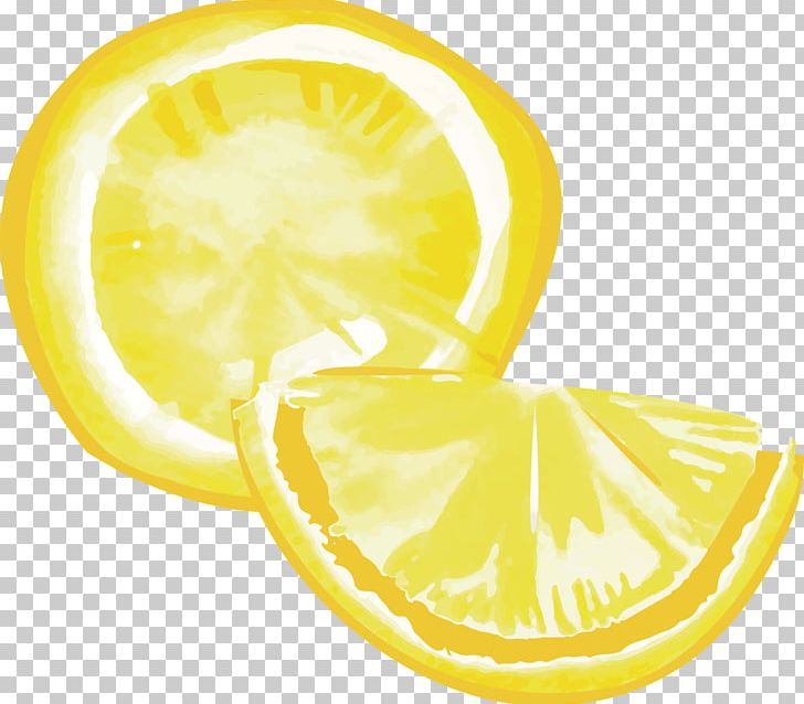 Lemon gouache png circle. Lemons clipart citron